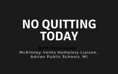 No Quitting Today