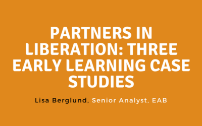 Partners in Liberation: Three Early Learning Case Studies