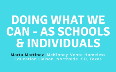 Doing What We Can—As Schools and Individuals