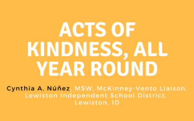 Acts of Kindness, All Year Round