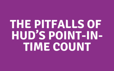 The Pitfalls of HUD's Point-in-Time Count