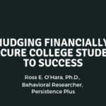 Nudging Financially Insecure College Students to Success